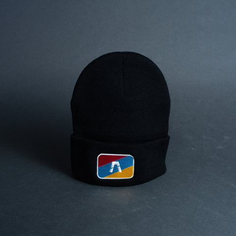 Beanie - ASCEND Tri-Color Patch Logo