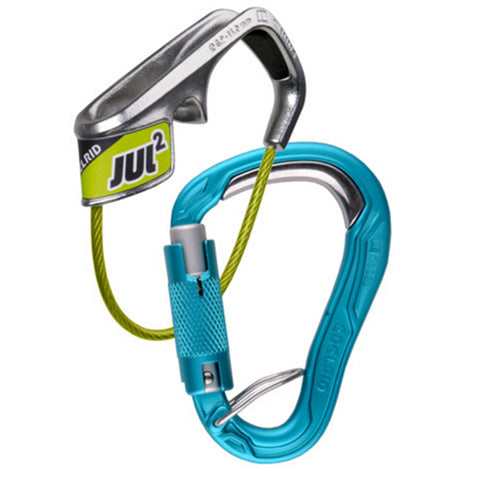Edelrid Jul 2 + HMS Bulletproof Triple Action Carabiner