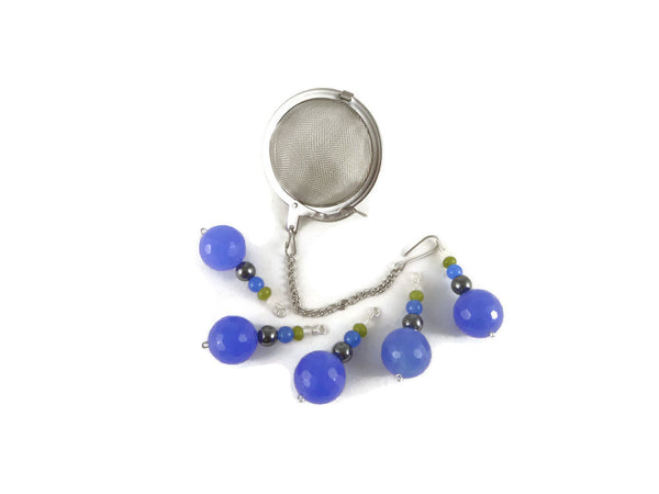 Tea Infuser with Beaded charm
