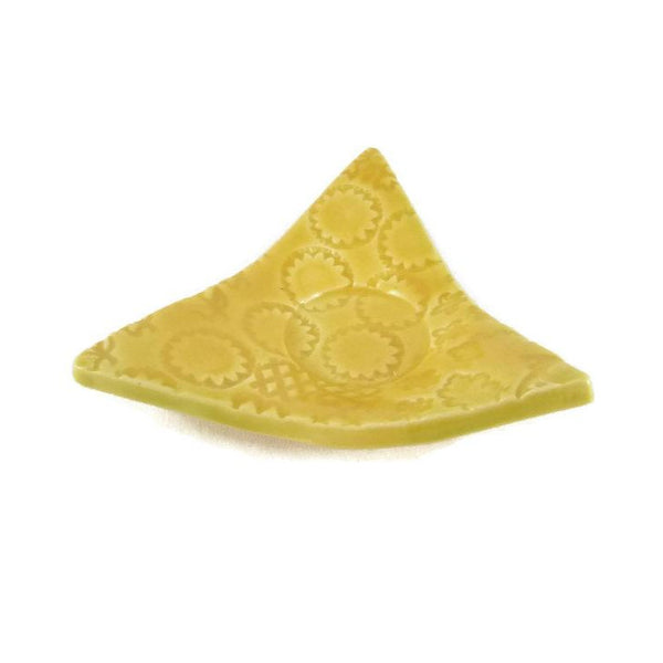 Yellow Triangle Trivet