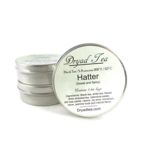Hatter Travel Tin & refills
