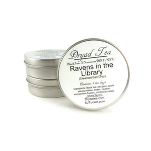 Ravens in the Library Travel Tin & refills