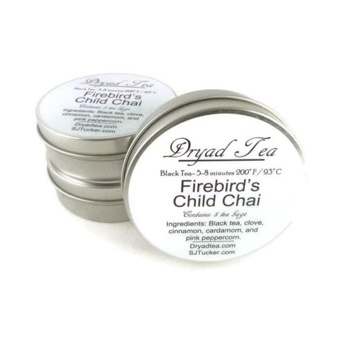 Firebirds Child Chai Travel Tin & refills
