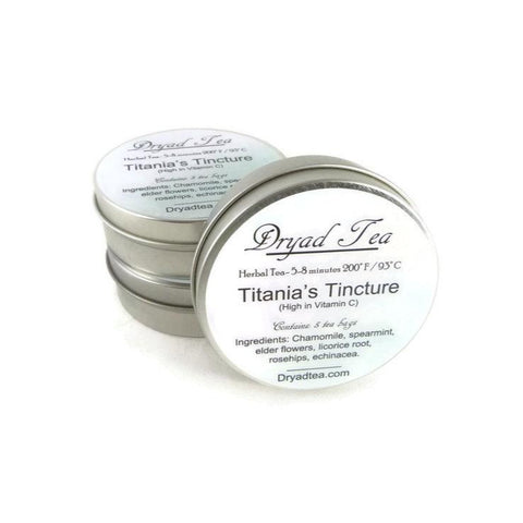 Titania's Tincture Travel Tin & refills