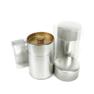 Silver Tea Canister - 3.5oz