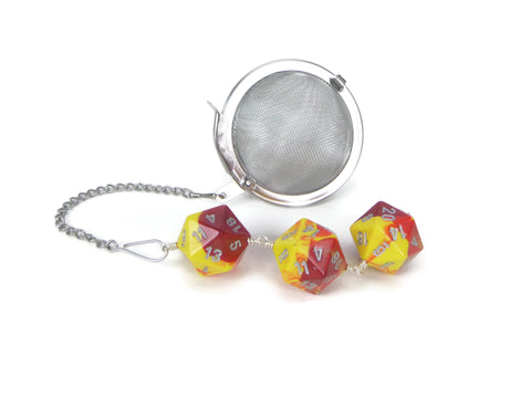Yellow and Red dice infuser