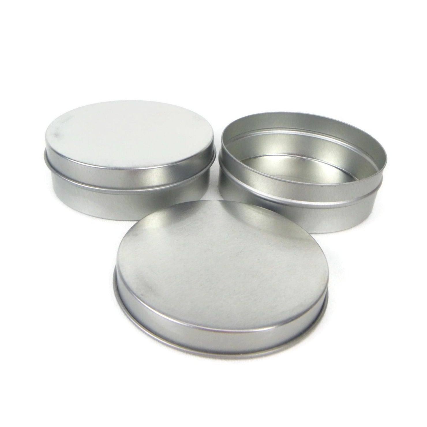 Short slip-lid tin