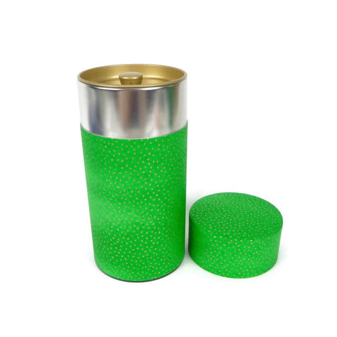 Green Washi Paper Canister - 7oz