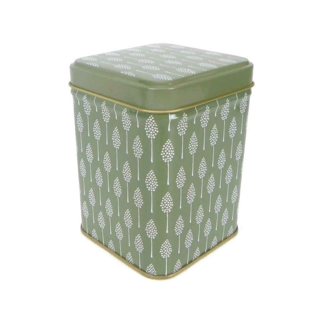 Square Tin in Green - 3.5oz