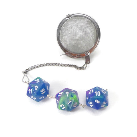 Tea Infuser with Waterlily Dice Trio