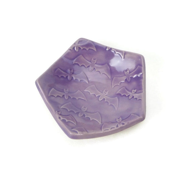 Bat Pentagon Trivet in Lilac Purple