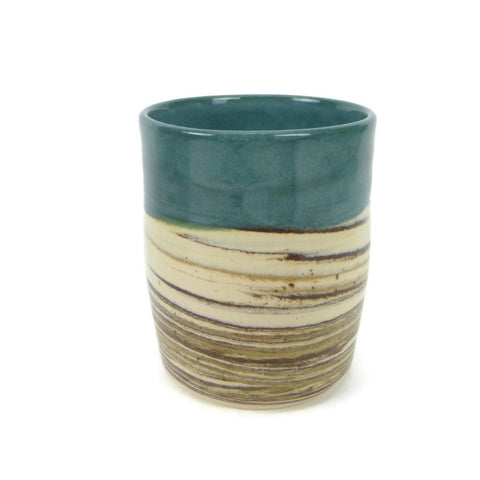 Agate and Ocean Swirled Cup