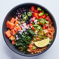 Brown Rice Taco Bowl