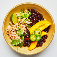 Cuban Black Bean Bowl