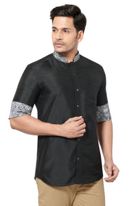 Designer Collection Partywear Art Silk Shirt - COMARS 200