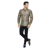 Printed Partywear Art Silk Shirt - PRARS 11