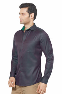 Slim Fit Partywear Shirt in a Jaquard Design - SFP 5017E