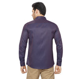 Slim Fit Partywear Shirt in a Jaquard Design - SFP 5017C