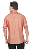 Designer Collection Partywear Art Silk Shirt - COMARS 1524