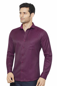 Slim Fit Partywear Shirt in a Jaquard Design - SFP 5017B