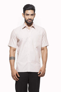 Men's  Formal Half Sleeve Cotton Shirt