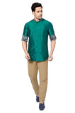 Designer Collection Partywear Art Silk Shirt - COMARS 998