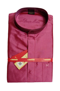 Mens Pure Silk Shirt Dennis Morton - DSF 287