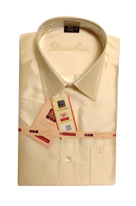 Men's Pure Silk Shirt Dennis Morton - DSS 04 C