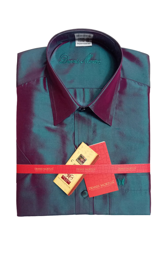 Men's Pure Silk Shirt Dennis Morton - DSS 1008
