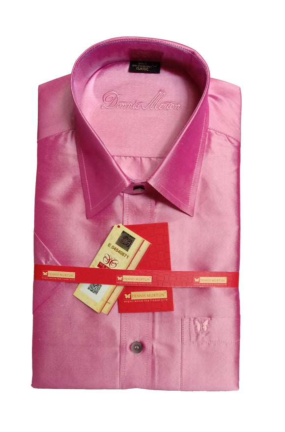 Men's Pure Silk Shirt Dennis Morton - DSS 1020