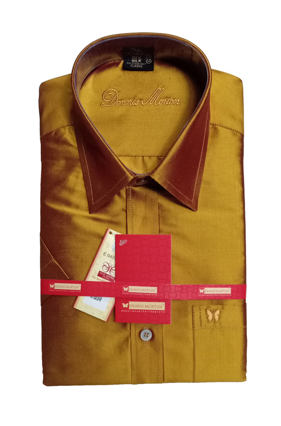 Men's Pure Silk Shirt Dennis Morton - DSS 1264