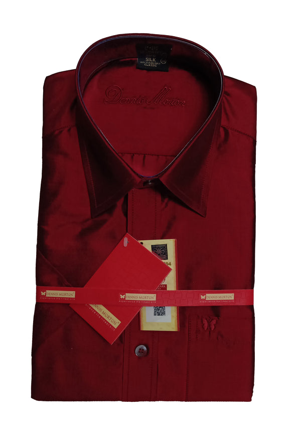 Men's Pure Silk Shirt Dennis Morton - DSS 405