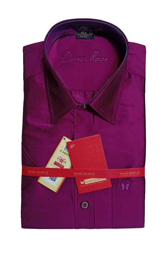 Men's Pure Silk Shirt Dennis Morton - DSS 420