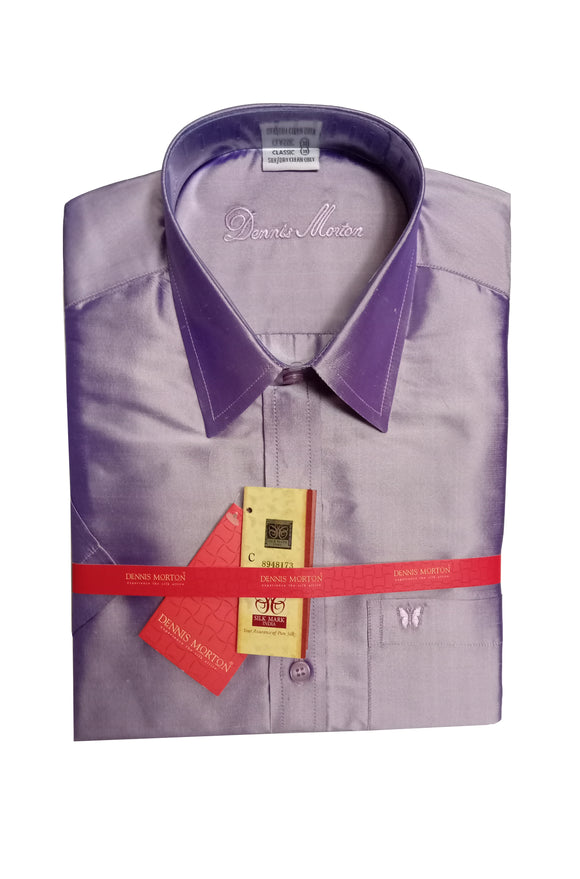 Men's Pure Silk Shirt Dennis Morton - DSS 833