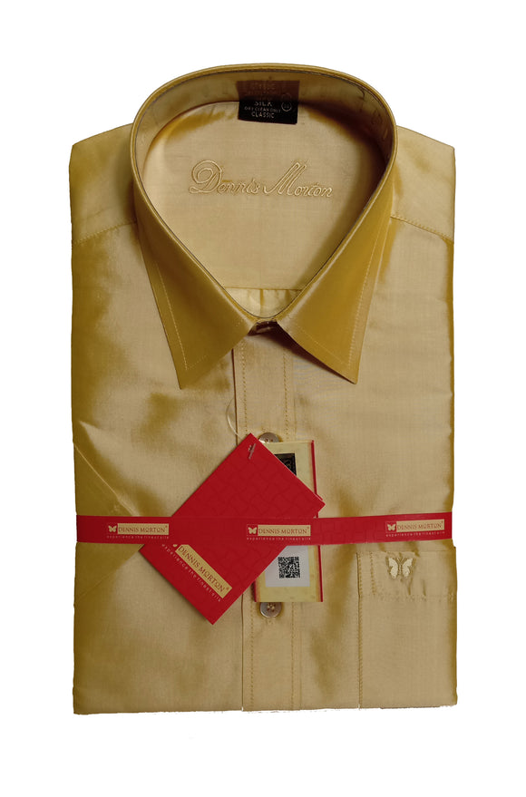 Men's Pure Silk Shirt Dennis Morton - DSS 962