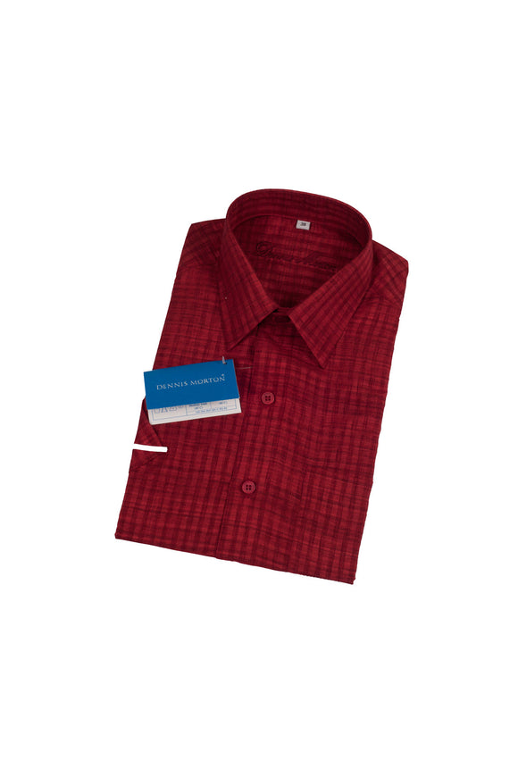 Men's Maroon Shirt  - KC 56 D