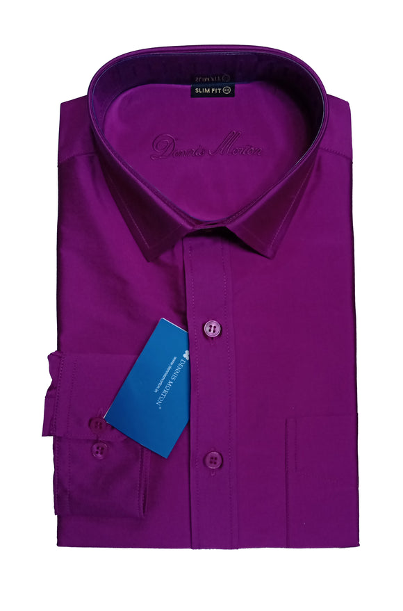 Men's Full Sleeve Art Silk Shirt - SLM ARSA 420 C