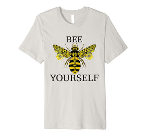 Bee Yourself Namaste Love Premium T-Shirt