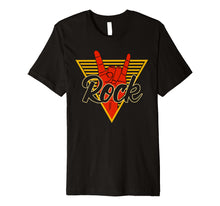 Load image into Gallery viewer, Rock n Roll Music Festival Concert Band Premium T-Shirt