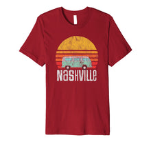 Load image into Gallery viewer, Nashville, TN - Vintage Hippie Van Road Trip T-Shirt