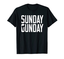 Load image into Gallery viewer, Sunday Gunday Handgun Shooting Pistol Firearms T Shirt