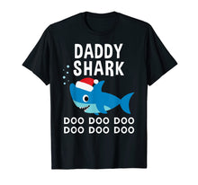 Load image into Gallery viewer, Daddy Shark Doo Doo Christmas Shirt for Family Pajamas