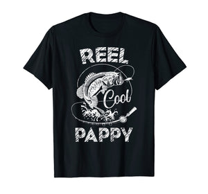 Reel Cool Pappy Father's Day Best Fishing Moments T-Shirt