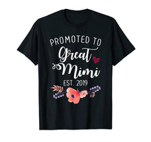 Load image into Gallery viewer, Promoted to Great Mimi Est 2019 T shirt