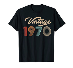 49th Birthday Gift Straight Outta Classic 1970 Vintage Shirt