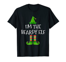 Load image into Gallery viewer, I'm The Beardy Elf Matching Family Group Christmas T Shirt