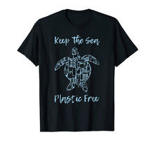 Load image into Gallery viewer, Save Sea Turtle T-Shirt Eco Friendly Anti Plastic Pollution