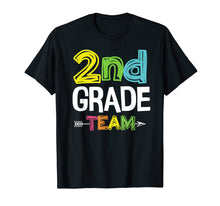 Load image into Gallery viewer, Team Second Grade Squad Shirt Back To School Gifts