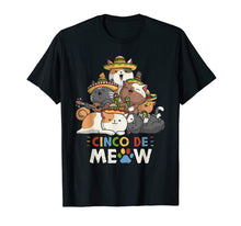 Load image into Gallery viewer, Cinco De Meow Mariachi Cat Lovers Cinco De Mayo T-Shirt