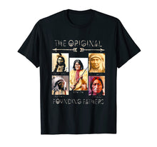 Load image into Gallery viewer, Chief Joseph, Sitting Bull, Geronimo and Red Cloud T-Shirt